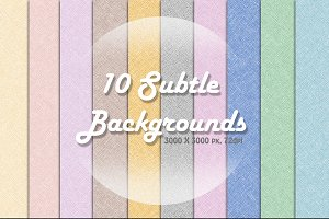 10 Subtle Backgrounds