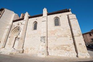 St. Nicholas church facade in Burgos
