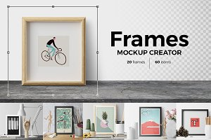 Frames. Mockup Creator