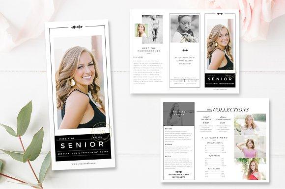 Senior Photography Brochure Template Brochures