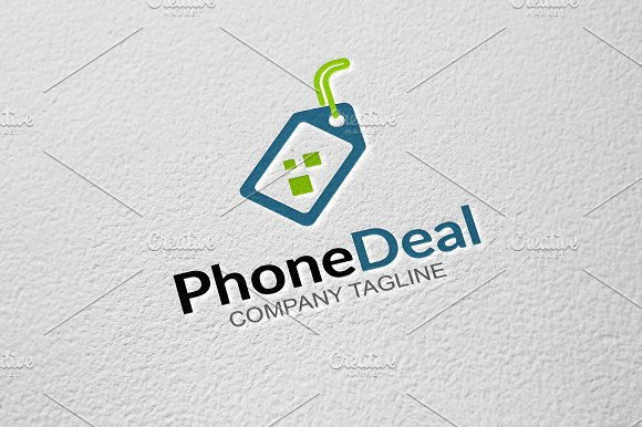 Phone Deal in Logo Templates