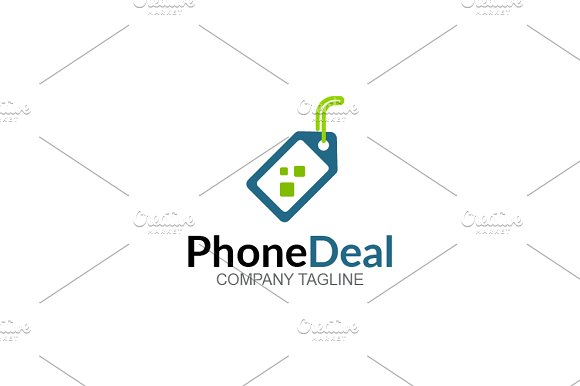Phone Deal in Logo Templates - product preview 1