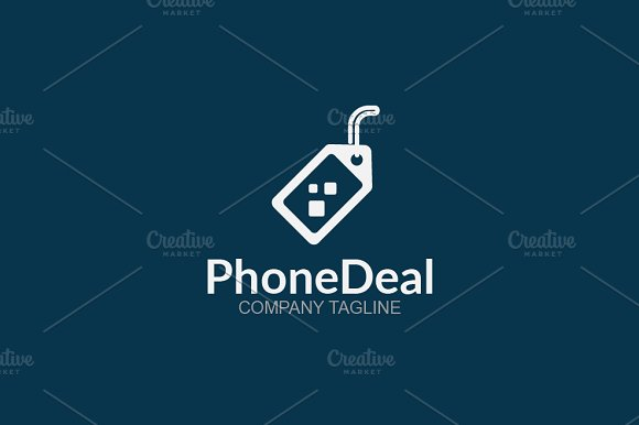 Phone Deal in Logo Templates - product preview 2