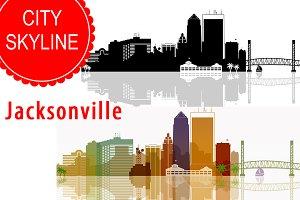 Jacksonville  Vector skyline