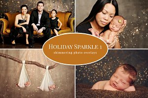 Holiday Sparkle 1 – photo overlays