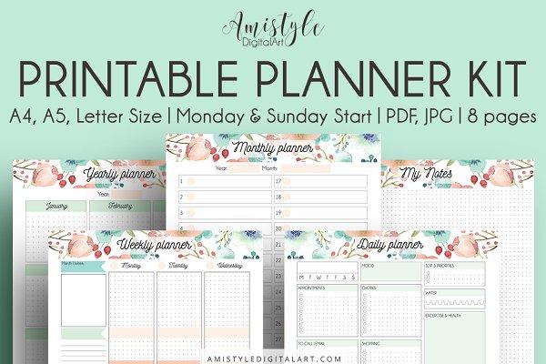 Printable Planner Kit
