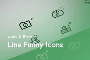 Funny Icons x 6