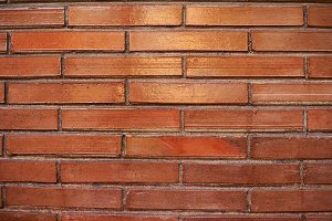 Red brick stone background