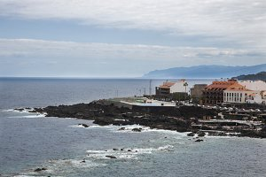 seaside landscape of Tenerife