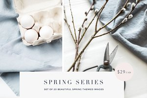 Spring Series stock photos