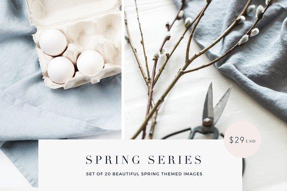 Spring Series Stock Photos