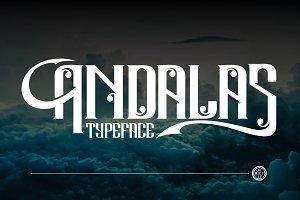 Andalas Typeface