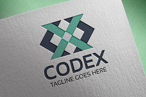 Codex (Letter X) Logo
