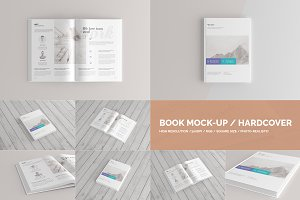 Book Mock-Up / Hardcover