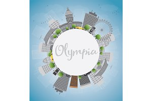 Olympia (Washington) Skyline