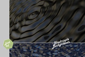 Black ripple surfaces
