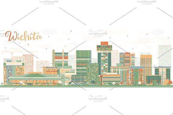 Abstract Wichita Skyline