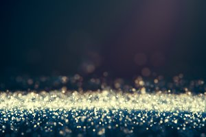 Glitter lights defocused background