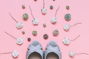 fashionable wedding shoes