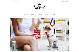 Writee Pro WordPress Blog Theme