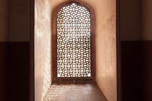 Beautiful window in India