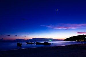 Beautiful sunset, Thailand