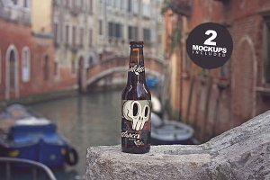 Beer on the Canal Mockup (duo) 2