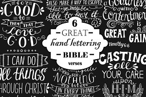 6 GREAT BIBLE VERSES