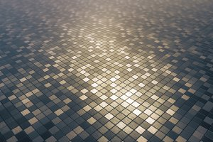 Mosaic square pattern background