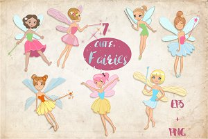 7 cute fairies