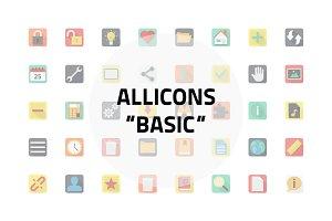 Allicons: Basic (53 icons)