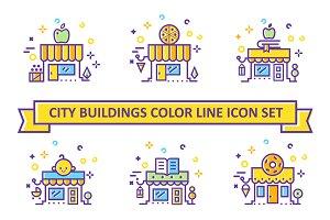 Vector City Big Icon Set (AI/EPS)