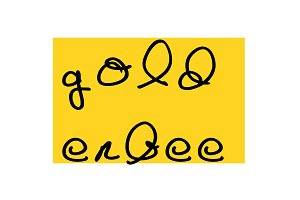 Goldenbee Typeface