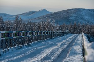 Bridge of Kolyma highway