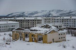 The ghost town Kadykchan - Kolyma