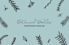 Hand Drawn Botanical Doodles