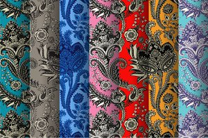Indian Paisley Patterns