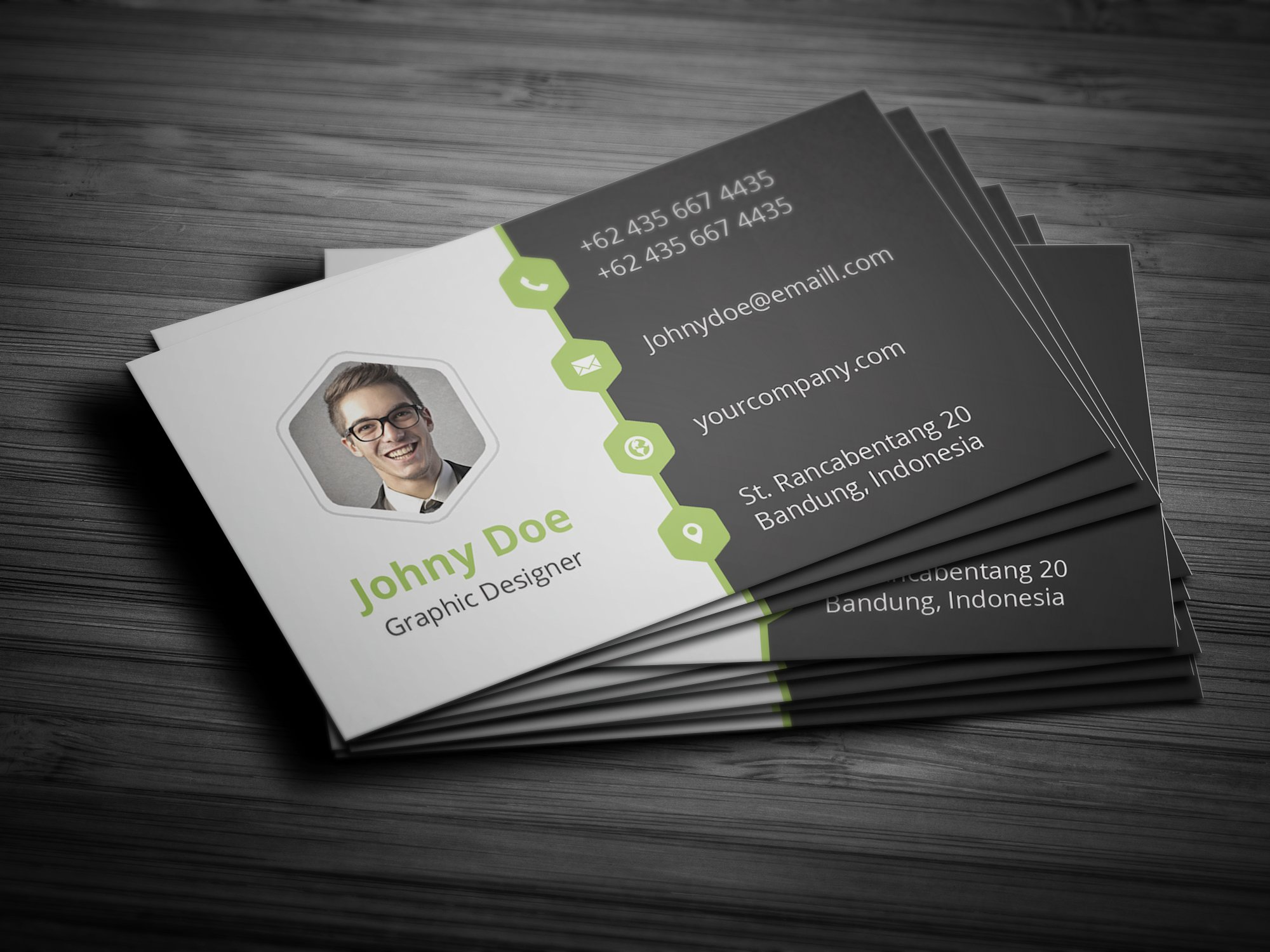 Creative business card template business card templates for Busness card template