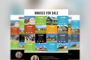 Multi listing real estate flyer