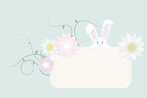 Cute spring Bunny