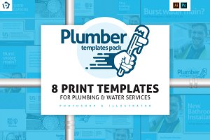 Plumbing Service Templates Pack