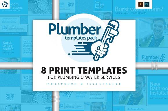 Plumbing Service Templates Pack