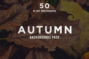 Mystic Autumn Photo Pack - 50 Images
