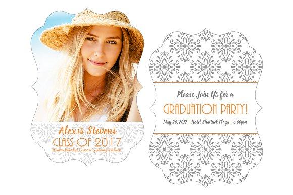 Alexis Graduation Announcement