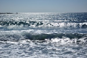 Mediterranean sea waves
