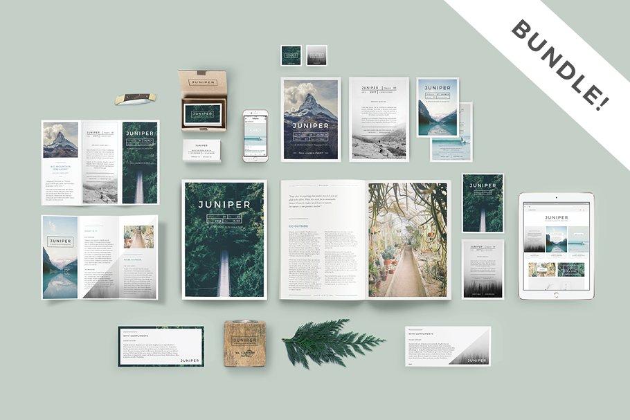 J U N I P E R Branding Bundle! ~ Branding Mockups ~ Creative