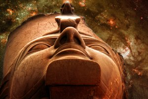 Ramses II and Galaxy M83