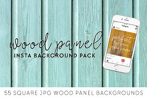 Wood Panel Instagram Backgrounds