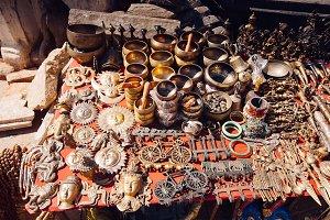Nepali Souvenirs in Kathmandu, Nepal