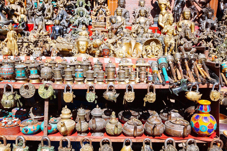 Nepali Souvenirs In Kathmandu Nepal Photos Creative
